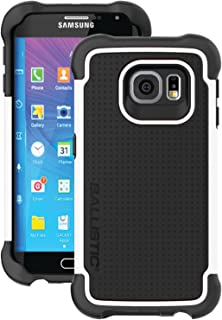 Ballistic, Galaxy S6 Case Edge [Tough Jacket] Six-sided - 6ft Drop Tested Certified Protection [White] Reinforced Bumper Cell Phone Case for Samsung Galaxy S6 Edge - White
