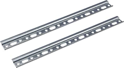 Gedotec Wandrail, kastophangrail voor bovenkasten, lengte 657 mm, verzinkt staal, met 100 kg draagkracht, kastrail voor ke...