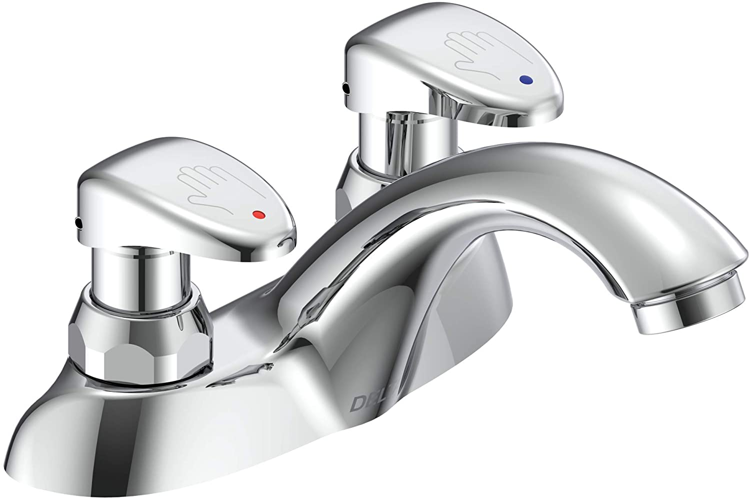 Delta Faucet 86T1153 86T Two Metering Online limited product Bathroom Financial sales sale Handle Slow-Close