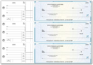 CheckSimple 3-Per-Page All-Purpose High Security Manual Business Checks - Counter Signature (150 Qty) - Custom