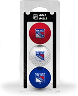 Team Golf NHL Regulation Size Golf Balls, 3 Pack, Full Color Durable Team Imprint