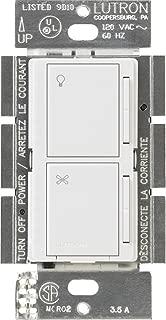 Lutron MA-ALFQ35-WH Maestro Companion Fan and Light Control, White