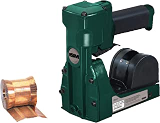 """Pneumatic/Roll Feed Carton Stapler, 3/4"""", Green, 1/Each"""