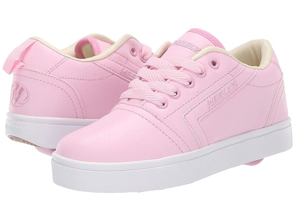 Heelys GR8 Pro (Little Kid/Big Kid/Adult) (Light Pink/Cream) Girls Shoes