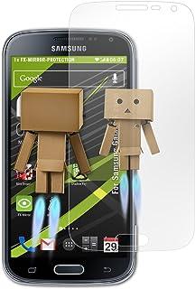 3e318749122 atFoliX Protección de Pantalla para Samsung Galaxy K Zoom Lámina Protectora  Espejo, Efecto Espejo FX