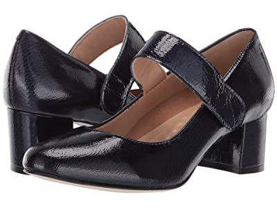 Walking Cradles Jackie-2 (Navy Tumbled Patent) Women