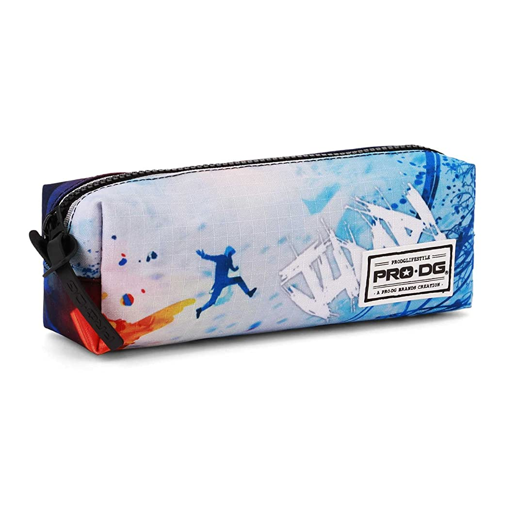 PRODG PRODG Jump-Quadrat Federm?ppchen Pencil Cases, 22 cm, Blue