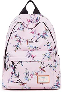 Women's Backpack Travel bag,Casual Daypacks Outdoor Sports Rucksack School Bag for Girls,College Bookbag(Pink)