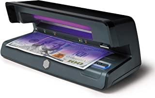 Safescan 70 - UV Counterfeit Bill Detector with Watermark and microprint Detection for Bills, Credit Cards and ID's