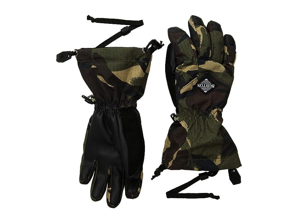 Burton Kids Profile Gloves (Little Kids/Big Kids) (Seersucker Camo) Snowboard Gloves