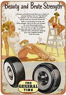 Best vintage general tire sign Reviews
