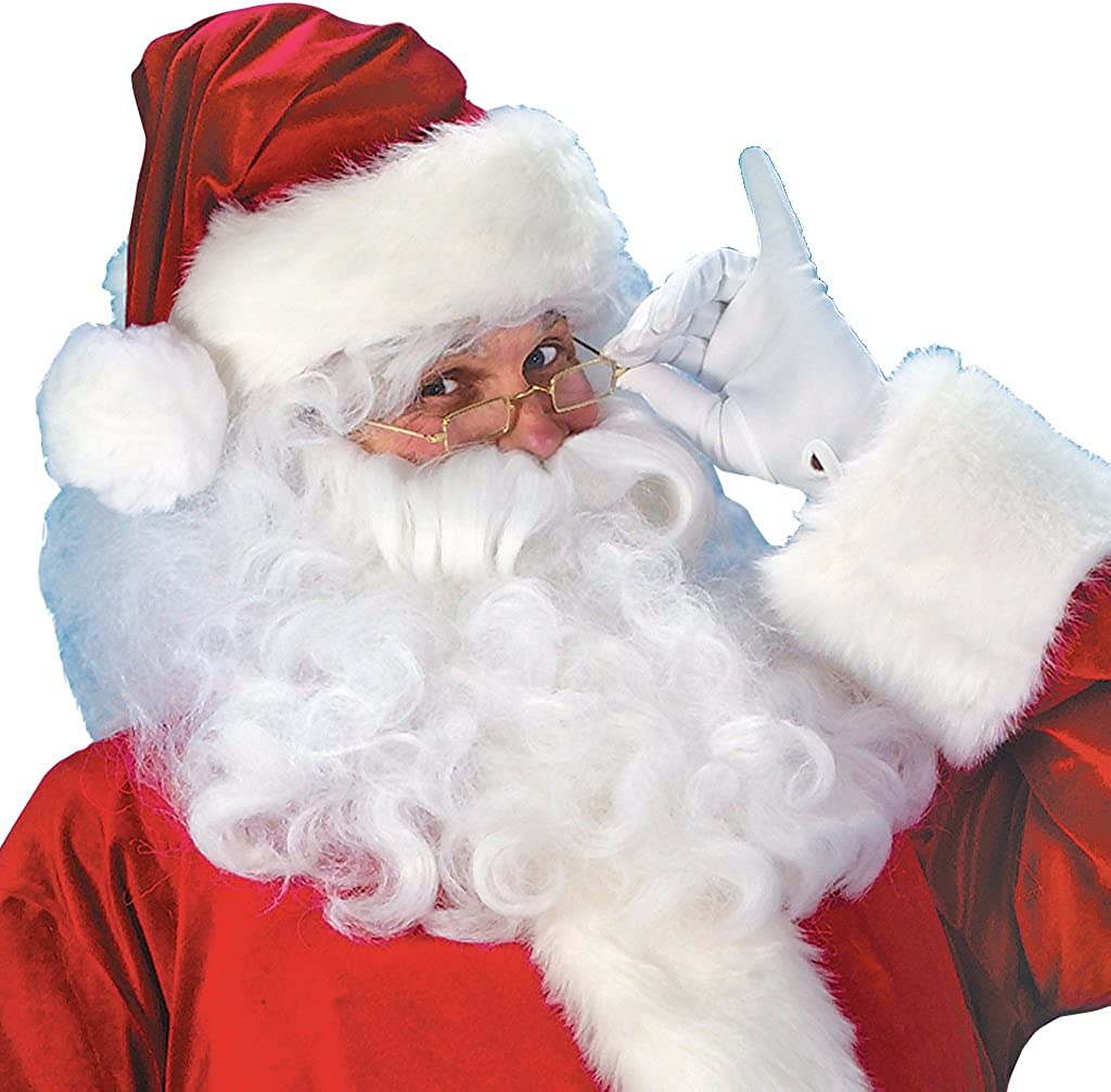 One Size Fits Most Men Nadasha Christmas Santa Claus Cosplay Costume Santa Outfit