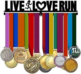 Believe&Train Live Love Run Women - Running Medal Hanger