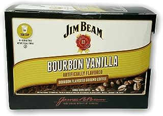 New Jim Beam Bourbon Vanilla Single Serve Coffee Cups - 10 Count