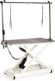 Master Equipment Electric Table with Remote Control Lift for Pets, Black Top