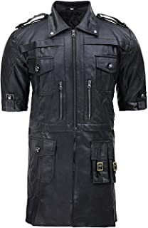 CHICAGO-FASHIONS Final Men XV Noctis Genuine Leather Fantasy Jacket