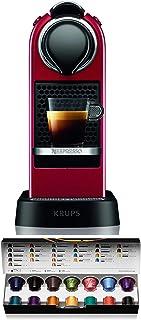 Krups Nespresso XN7415 Citiz cafetera de cápsulas monodosis, con 19 bares de presión, thermoblock, función automática con ...