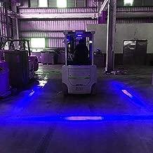 LIGHTUPRO 30W LED Forklift Truck Side Line Marker Light Safety Warning Work Lamp Pedestrian Safe Warning Light/Offroad Race Lamp/Forklift Safety Light Waterproof IP68 10-80V(BLUE LINE)