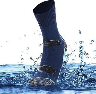 SuMade Unisex 100% Waterproof Breathable Hiking Running Crew Socks