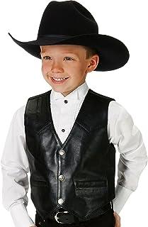 Roper Vest with Front Yokes Boys Vest
