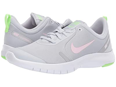 Nike Kids Flex Experience RN 8 (Big Kid) (Pure Platinum/Pink Foam/Platinum Tint) Girls Shoes