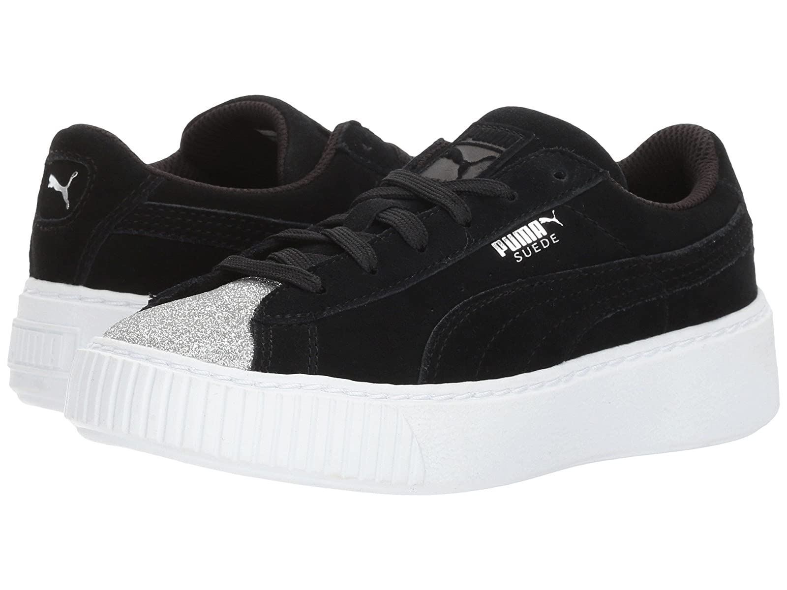Puma Kids Suede Platform Glam (Little Kid/Big Kid)Cheap and distinctive eye-catching shoes