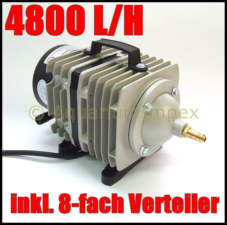 Piston Compressor ACO 388D  Aerator Pump for Garden Ponds