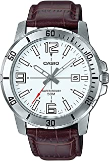 Casio Casual Watch Analog Display for Men MTP-VD01L-7BVUDF