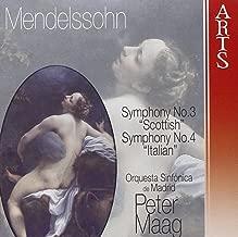 Mendelssohn: Symphony No. 3 - Scottish/Symphony No. 4 - Italian
