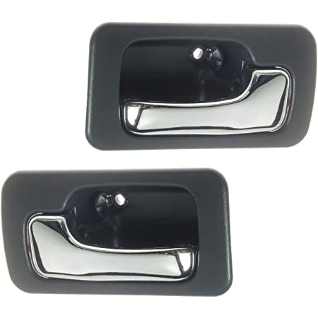 Gray Inside Inner Interior Door Handle Driver Side LH Left for 90-93 Accord