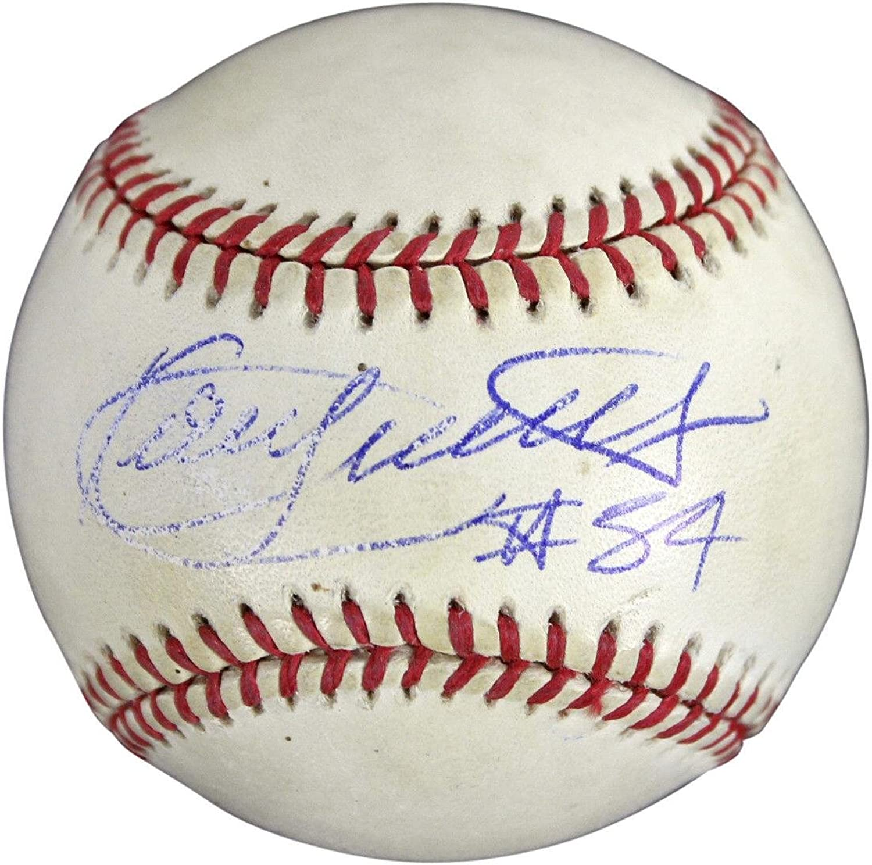 Kirby Puckett Autographed Ball  OAL Budig BAS  C54106  Beckett Authentication  Autographed Baseballs
