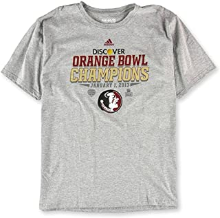 Mens Discover Orange Bowl Graphic T-Shirt