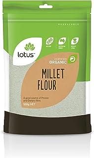 Lotus Organic Millet Flour 500 g, 500 g