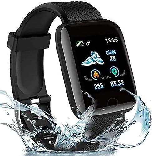 Infinizy 3 Years Warranty Smart Watch 1 3 Full Touch Men Women Fitness Tracker Blood Pressure Heart Rate Monitor Lite Waterproof Exercise Smartwatch for All Boys Girls
