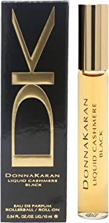 Donna Karan Liquid Cashmere Black Mini Eau de Parfum Rollerball for Women, 0.34 oz