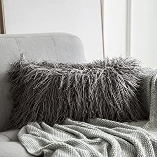 room essentials fur body pillow cover