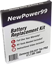 NewPower99 Battery Replacement Kit with Battery, Instructions and Tools for Samsung Galaxy Tab PRO 12.2 SM-T900