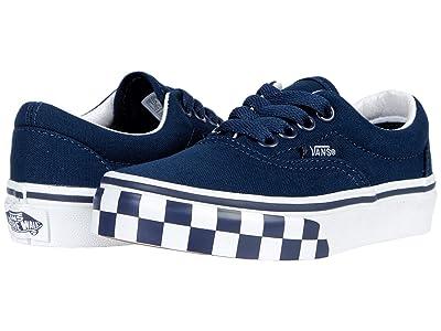 Vans Kids Era (Little Kid) ((Check Bumper) Dress Blue/True White) Boys Shoes