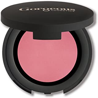 Gorgeous Cosmetics Colour Pro Blush, Pressed Powder, High Pigment Blush, Single in Compact with Mirror, Shade Coral
