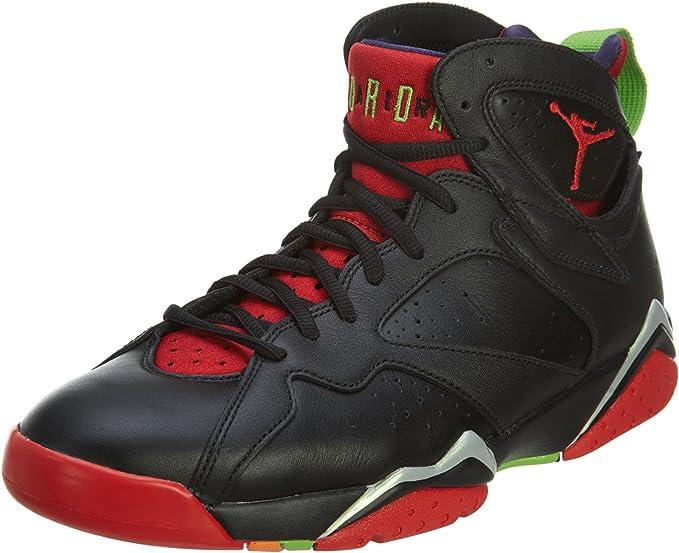 Amazon.com: Nike Jordan Men's Air Jordan 7 Retro Blck/Unvrsty Rd ...