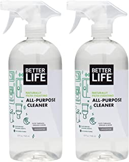 Better Life Natural All-Purpose Cleaner, Safe Around Kids & Pets, 32 Fl Oz (Pack of 2), 2409C