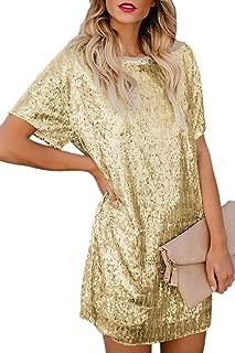Amazon.es: Dorado - Vestidos / Mujer: Ropa