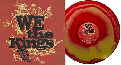 We The Kings - Exclusive Limited Edition Red & Gold Swirl Colored Vinyl LP #/200