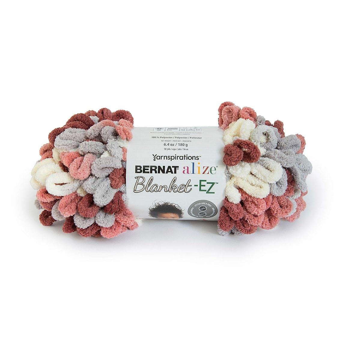 Bernat 16103737022 Alize Blanket-EZ Yarn, Warm Clay