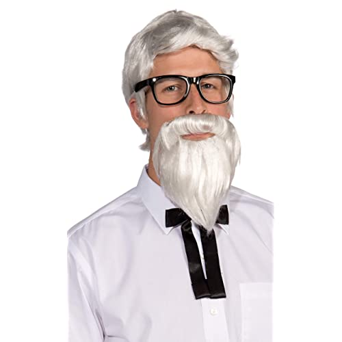 Brand New Old Man Uncle Bert Adult Costume