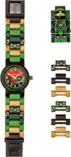 LEGO Watches and Clocks Boy's 'Ninjago Lloyd' Quartz Plastic Casual watch,  Color:Green (Model: 8021421)