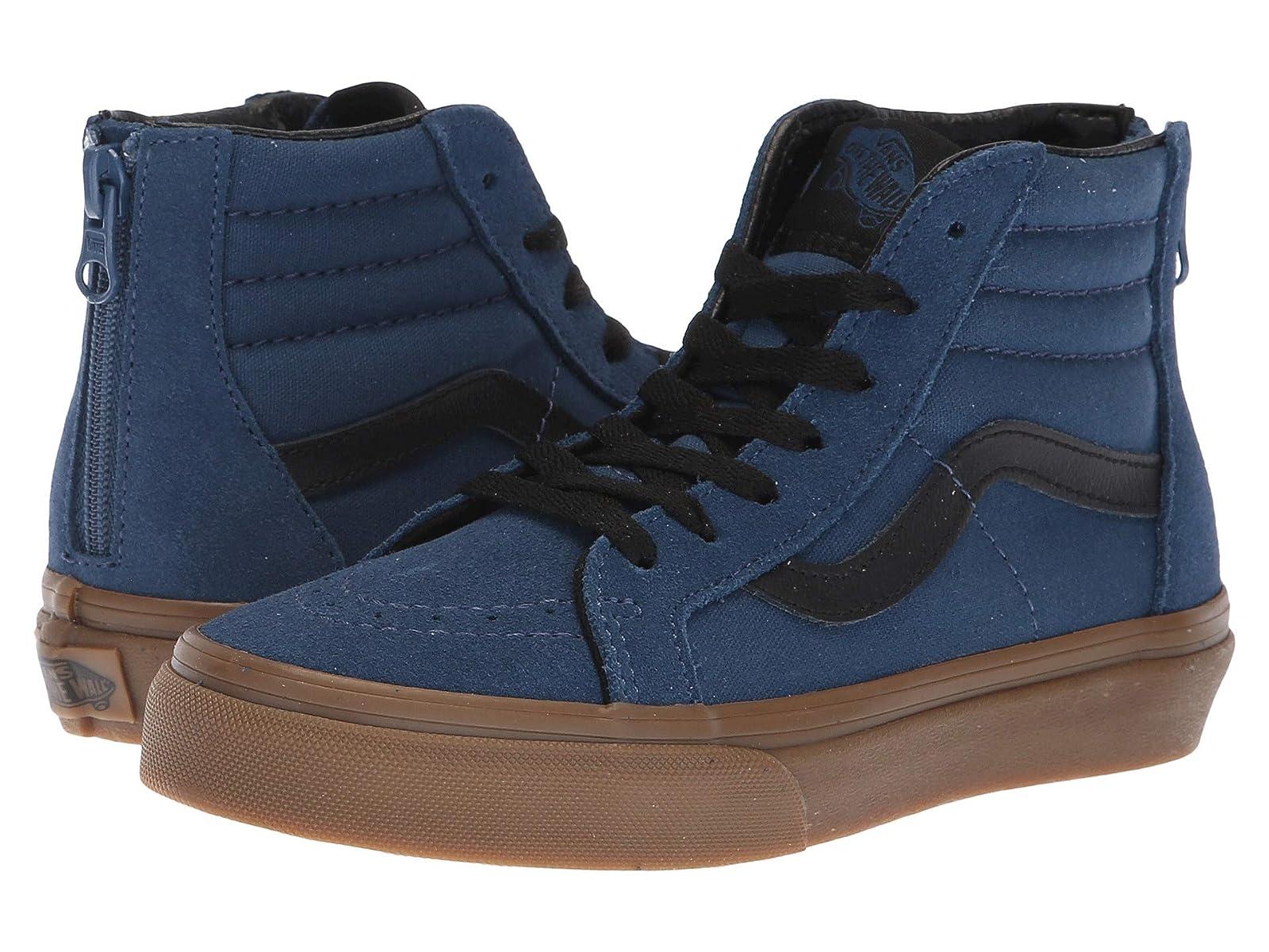Vans Kids Sk8-Hi Zip (Little Kid/Big Kid)Atmospheric grades have affordable shoes