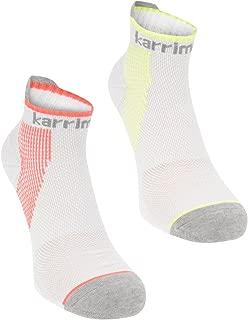 Karrimor 2 Pack Compressione Calzini Scarpe Da Ginnastica Da Donna
