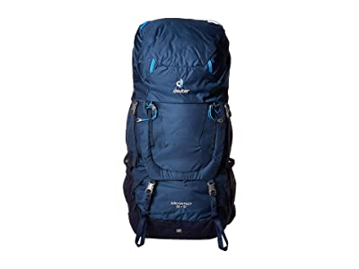 Deuter Aircontact 65 + 10 (Midnight/Navy) Backpack Bags