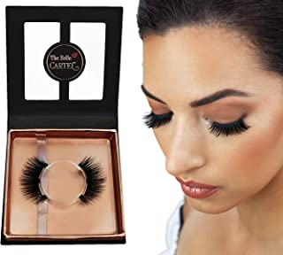 Magnetic Eyelashes Supreme Quality | 8Pcs Dual Magnetic Lash Set | Superior Hold Natural Looking Magnetic Lashes | Reusable and Durable Magnetic Lashes | Cruelty-Free Magnetic Lashes No Glue (CABARET)